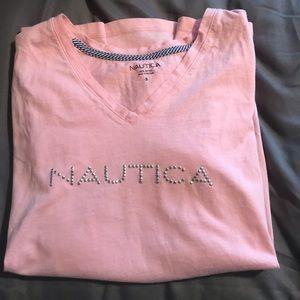 Nautica Pink Shirt